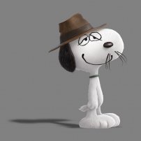 Spike snoopy et les peanuts