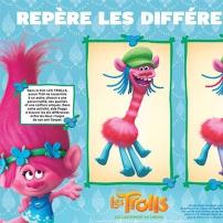 Les Trolls : activité - jeu des différences