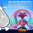 Les Trolls : activité - Une aventure décoiffante
