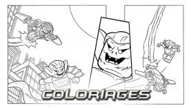 Les Coloriages de LEGO® Batman™ 3 : Au-delà de Gotham