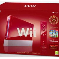 Le pack Wii rouge