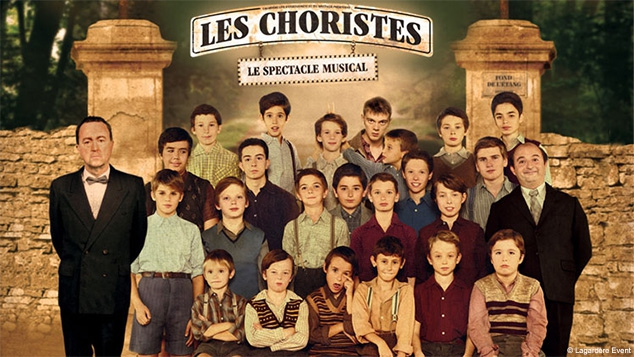 Les Choristes : le spectacle musical