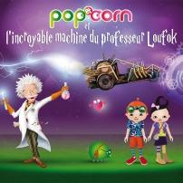 """Fond d'écran """"Pop, Corn et le Professeur Loufok"""" 768x1024"""