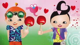 La Recette des mini pommes d'amour avec Pop & Corn