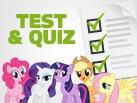 Tests et quizz