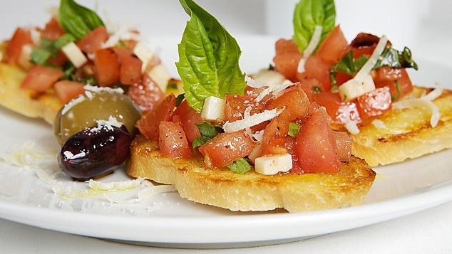 Bruschette de tomate