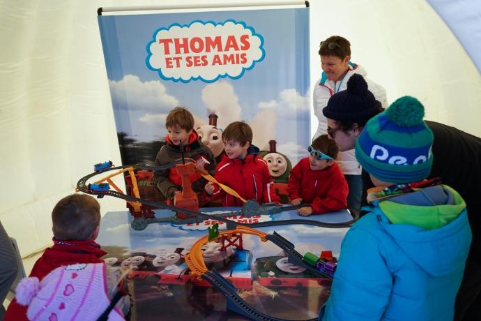 Animation Thomas et ses amis