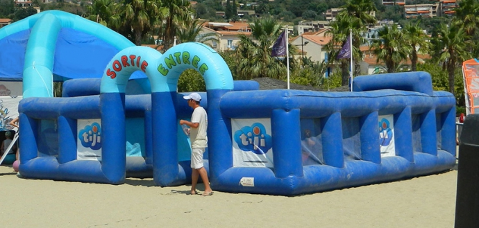 les ateliers de tiji kids à la  plage 2018