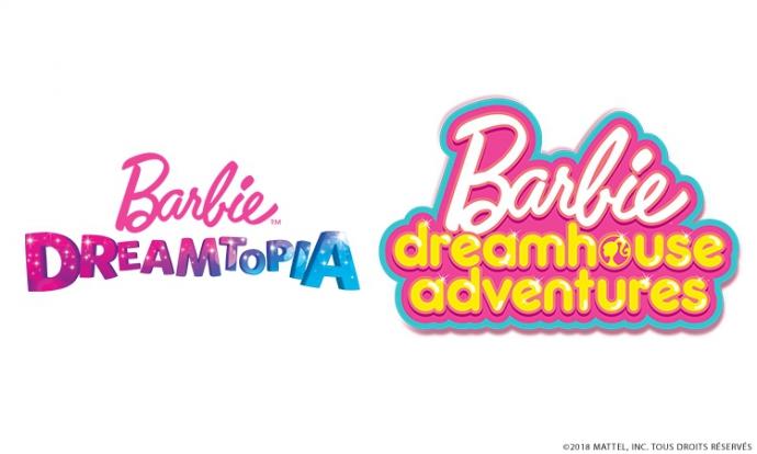 Barbie dreamtopia et barbie dreamhouse adventure