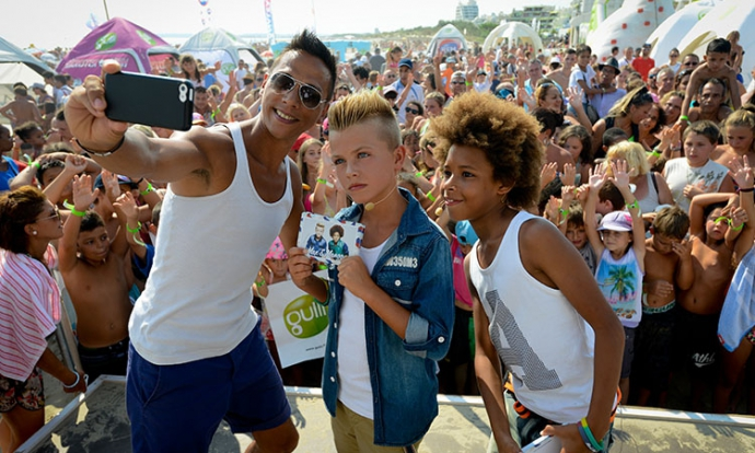 Selfie de Khriss, Max et Mango
