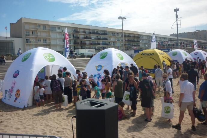 Kids à la plage à Saint-Jean de Mont !