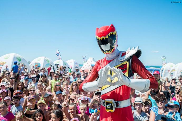 Le Power Rangers Rouge