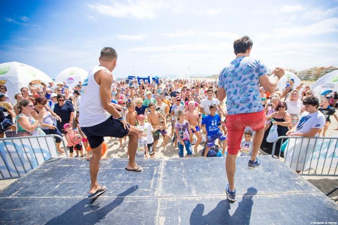 kids à la plage 2017