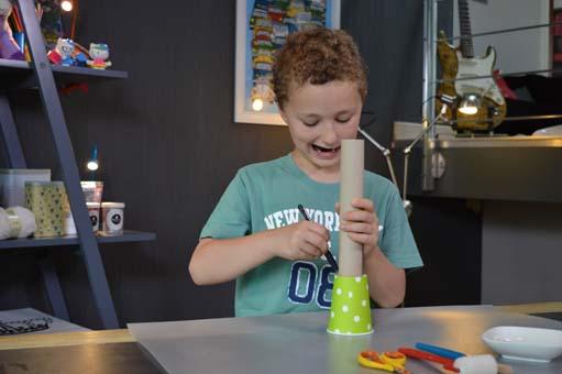 TiJi, enfants, les mini ateliers de TiJi, ateliers créatifs, bricolage, longue vue de pirate