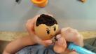 Le jardin d'intérieur en œufs