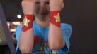 les brassards de super-héros