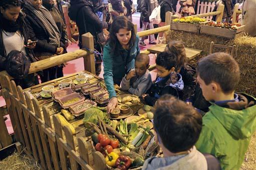 Les images le salon de l 39 agriculture actu des enfants for Salon des enfants