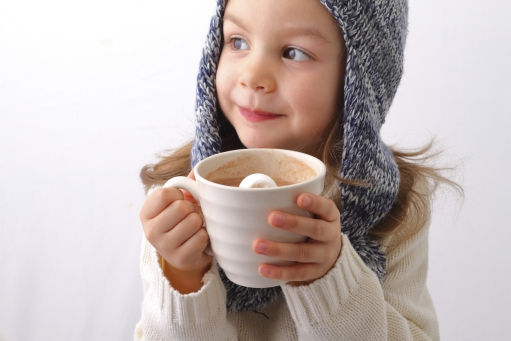 le chocolat chaud, tiji, enfants, Noël
