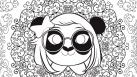 Les mandalas pandas