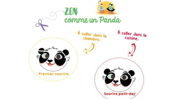 Zen comme un panda - The Panda Family