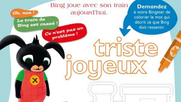 TiJi, enfants, Bing, héros, dessins animés, activités, bricolages