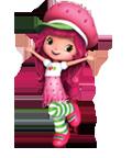 Charlotte aux fraise 3D