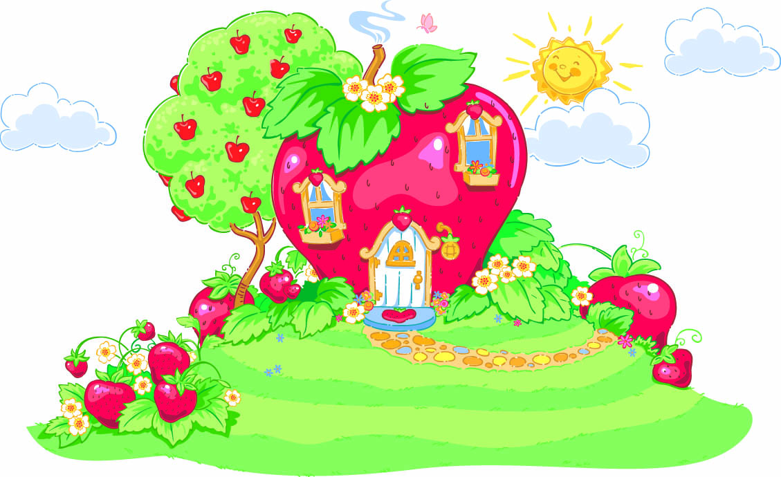 Images charlotte aux fraises h ros tiji for Maison de charlotte aux fraises