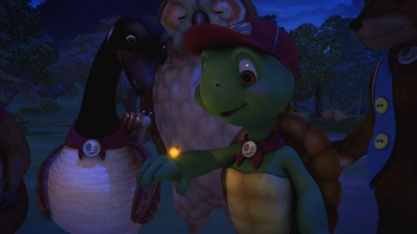 Franklin découvre une luciole
