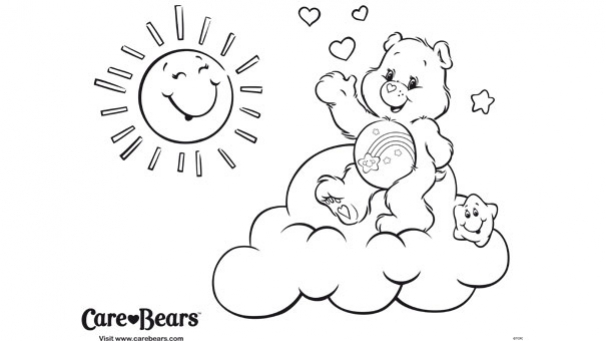 Coloriages Bisounours