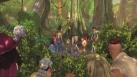 Les pirates débarquent dans la forêt