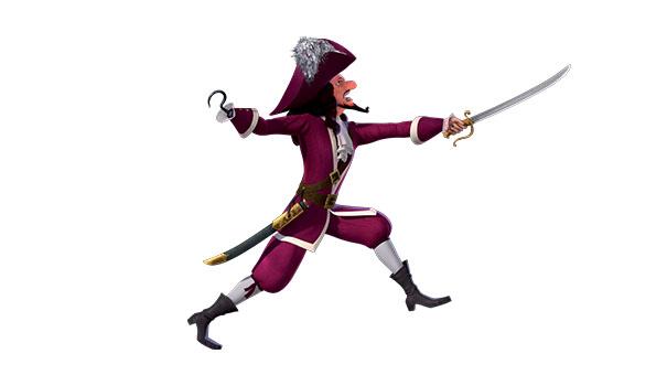 Les nouvelles aventures de peter pan personnages - Peter pan et capitaine crochet ...