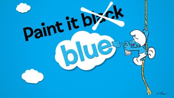 La vie en bleu !