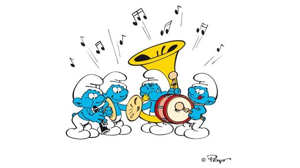 Les Schtroumpfs - L'orchestre