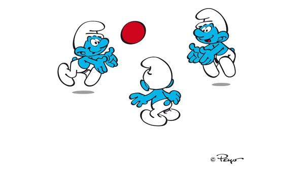 Les Schtoumpfs - Le ballon
