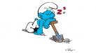 Schtroumpf paresseux
