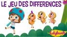 Lilybuds jeu des différences