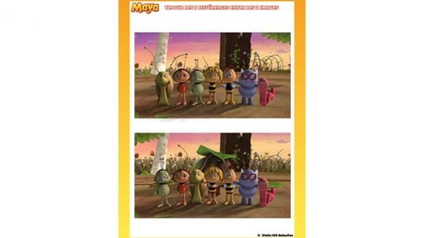 jeux maya l'abeille