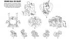 Activité à imprimer - jeu de logique - My Little Pony