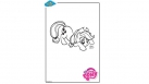 Coloriage My Little Pony - Applejack