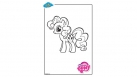 Coloriage My Little Pony - Pinkie Pie