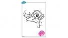 Coloriage My Little Pony - Rainbow Dash