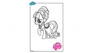 Coloriage My Little Pony - Rarity