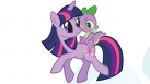 Image My Little Pony - Twilight Sparkle et Spike