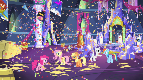 TiJi, enfants, My Little Pony, fête, images, saison 5, dessins animés, héros