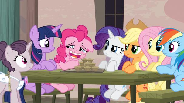 TiJi, enfants, My Little Pony, héros, dessins animés, saison 5, le goûter