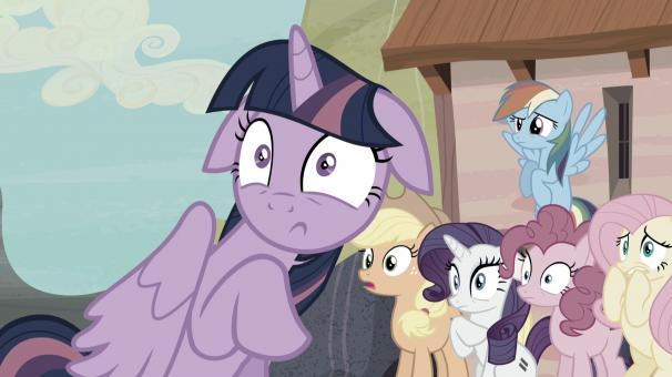 TiJi, enfants, My Little Pony, Saison 5, héros, dessins animés