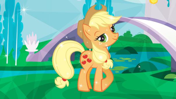 poney jaune my little pony
