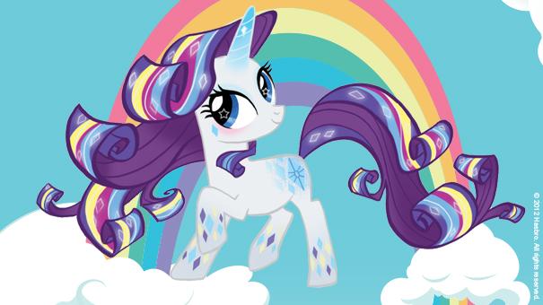 Fluttershy rainbow power my little pony h ros tiji - My little pony en dessin anime ...