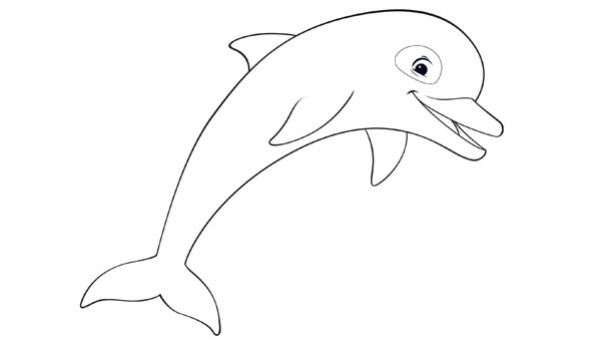Très Coloriages Oum le dauphin blanc OZ54