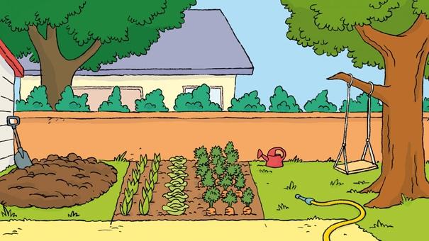 L 39 univers de t 39 choupi for Jardin dessin